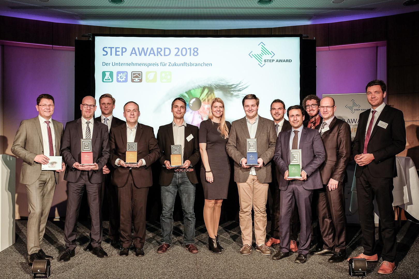 STEP-Award 2018 Preisträger